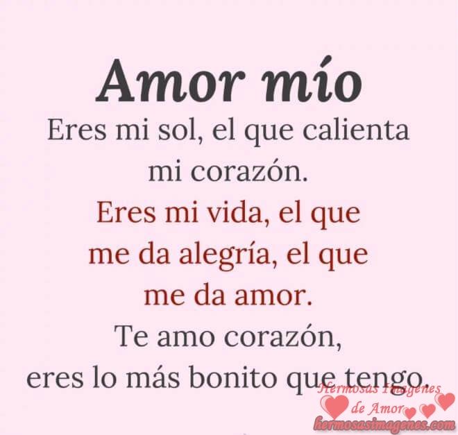 Te Amo Amor Mio Eres Mi Vida Frases Karmashares Llc Leveraging